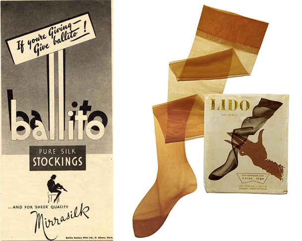 1940s silk stockings