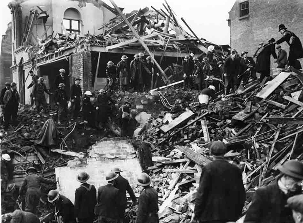 Durning Road Blitz tragedy Liverpool