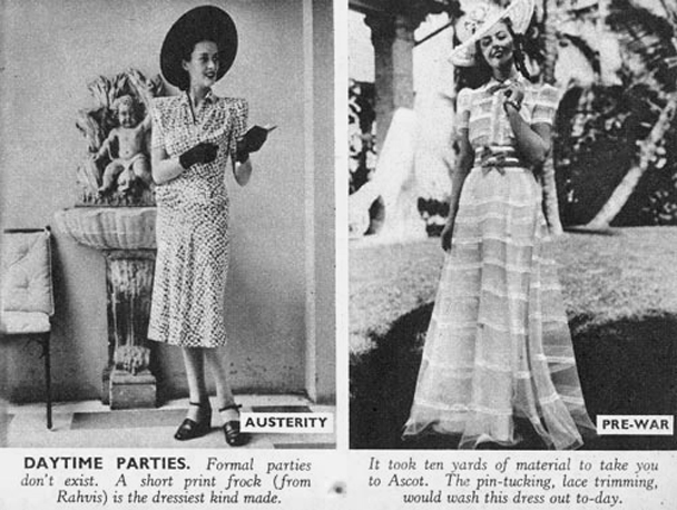 1940s austerity daytime parties