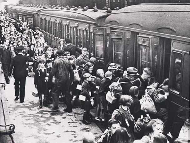 Image result for world war II evacuation