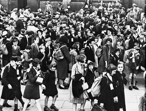 world war II evacuation lime street