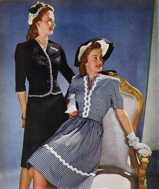 Wartime 1940s Fashion