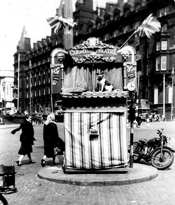 punch and judy liverpool