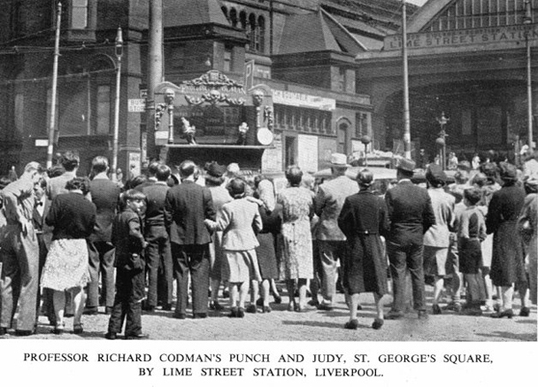 punch and judy liverpool 1951