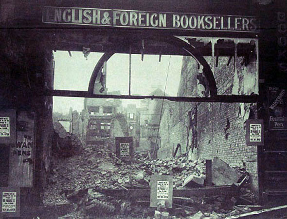 6 May 1941 Church Street Bookshop