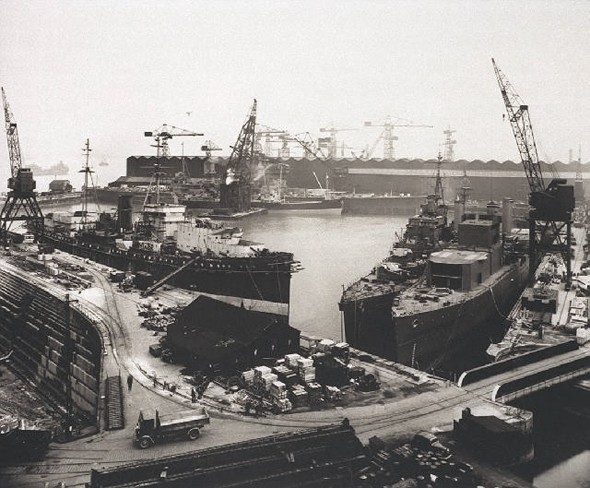 cammell lairds world war II