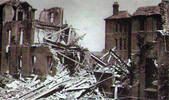 mill road hospital blitz