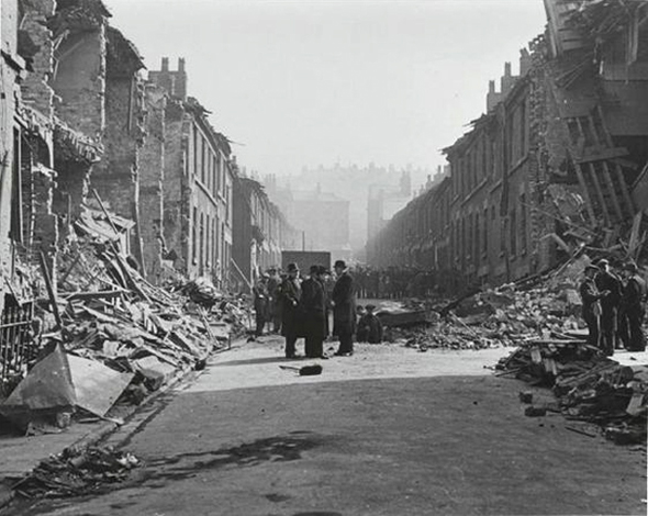 street meeting liverpool blitz