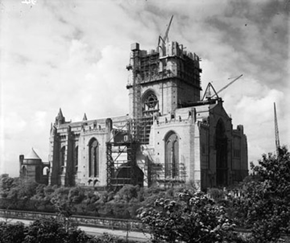 liverpool anglican cathedral 1937