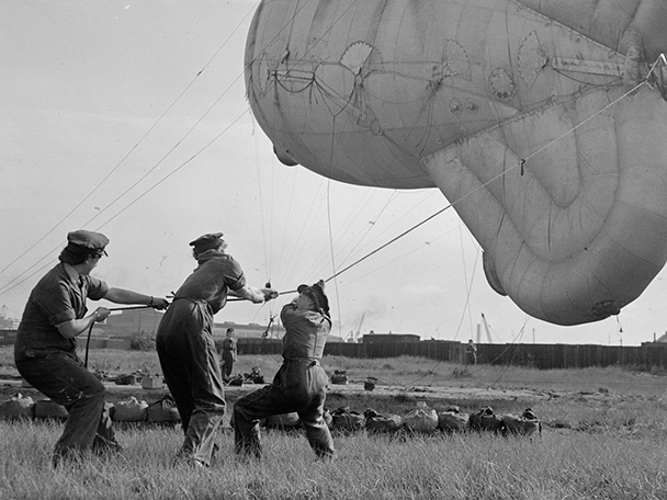 waaf barrage balloon ww2